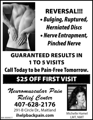 NeuromuscularPainRelief / Neuromuscular Pain Relief Center Winter Park Florida